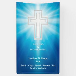 Christian Crucifix Banner