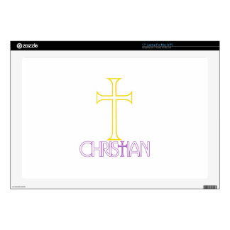 """Christian Decal For 17"""" Laptop"""