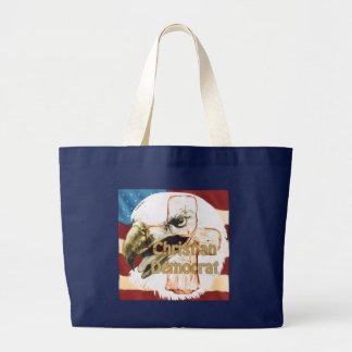 Christian Democrat Large Tote Bag