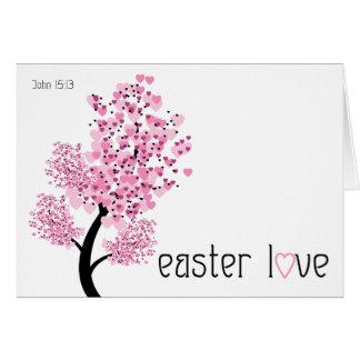 Christian Easter card ~ Easter love