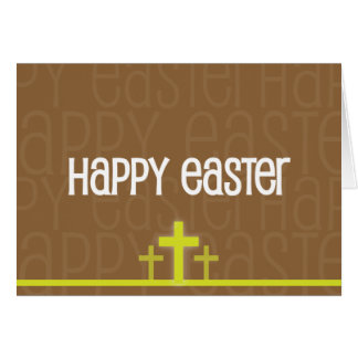 Christian Easter card ~ Happy Easter