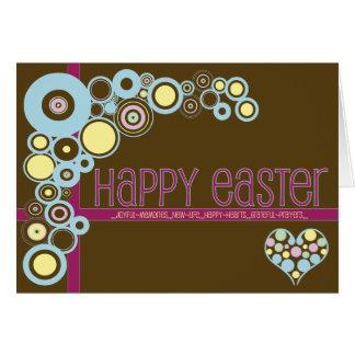 Christian Easter card ~ Love 'n' Circles