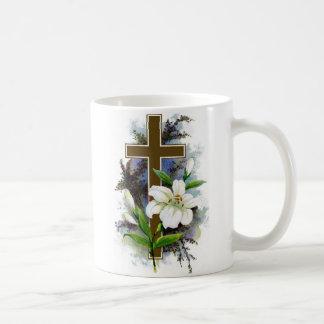 ~ Christian Easter Cross Mug~ Classic White Coffee Mug
