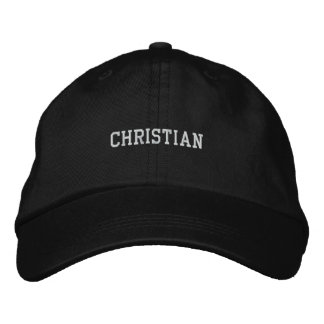 Christian Embroidered Baseball Cap