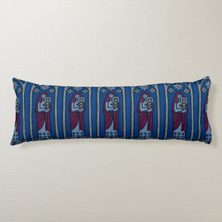Christian embroidery body pillow
