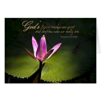 Christian Encouragement Note Card