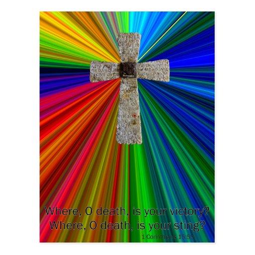 christian encouragement postcard