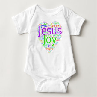 Christian expressions baby bodysuit