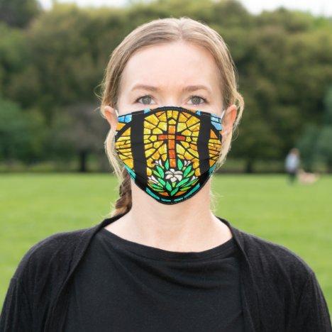 Christian faith adult cloth face mask