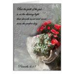 Christian Faith Art ~ Proverbs 4:18 ~ Path Greeting Cards