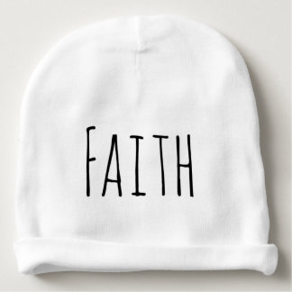 Christian faith baby beanie