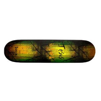 Christian Faith Jesus is Lord Skateboard