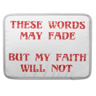 Christian Faith Sleeve For MacBooks