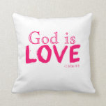 Christian Faith Throw Pillow