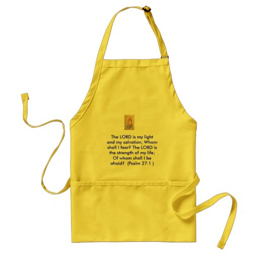 Christian faith  whole sale  gifts here adult apron