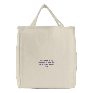 Christian faith  whole sale  gifts here embroidered tote bag