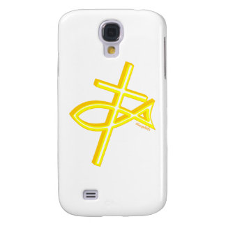 Christian Fish and cross gift design Samsung Galaxy S4 Case