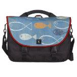 Christian Fish Art Computer Bag