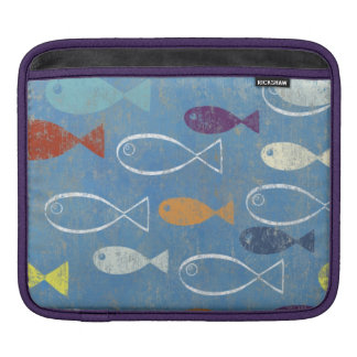Christian Fish Art Sleeve For iPads
