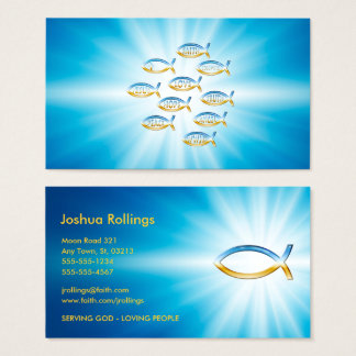 Christian Fish Business Card