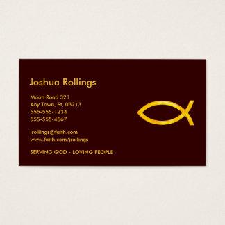 Christian Fish | Business Card