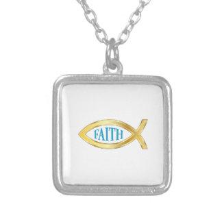 CHRISTIAN FISH FAITH PENDANTS