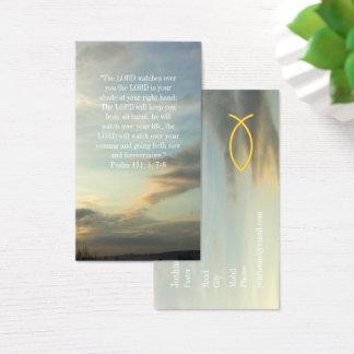 Christian Fish   Psalm Business Card