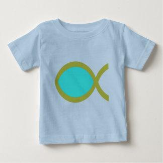 Christian Fish Symbol Baby T-Shirt