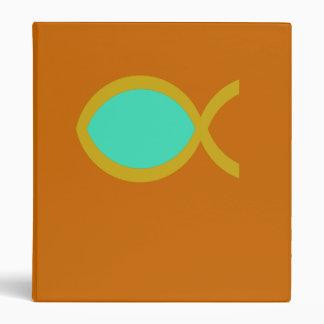 Christian Fish Symbol Binder