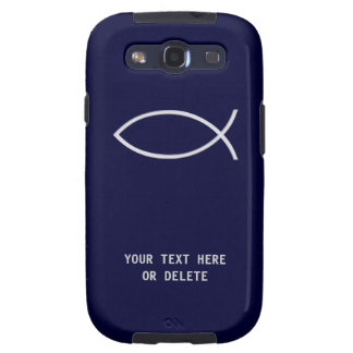 Christian Fish Symbol Samsung Galaxy SIII Cases