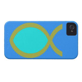 Christian Fish Symbol Blackberry Cases