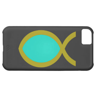 Christian Fish Symbol Cover For iPhone 5C