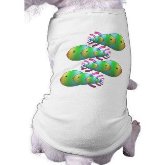 Christian Fish Symbol Families Dog Tee Shirt