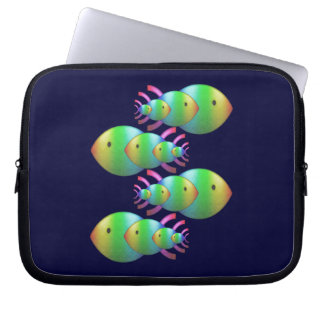 Christian Fish Symbol Families Laptop Computer Sleeves
