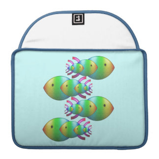 Christian Fish Symbol Families Sleeves For MacBook Pro