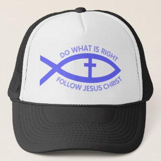 Christian Fish Symbol Hat