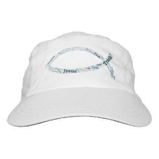 Christian Fish Symbol Headsweats Hat