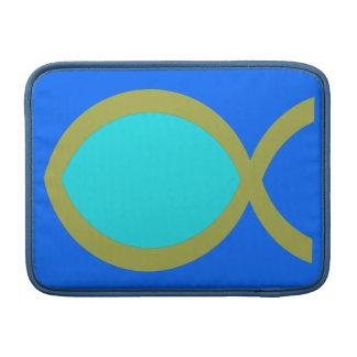 Christian Fish Symbol MacBook Air Sleeve