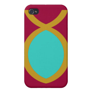 Christian Fish Symbol iPhone 4 Cases