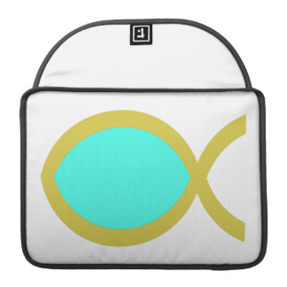 Christian Fish Symbol Sleeve For MacBooks