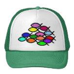 Christian Fish Symbols - Rainbow School - Mesh Hats