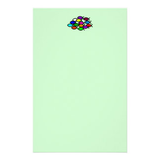 Christian Fish Symbols - Rainbow School - Stationery