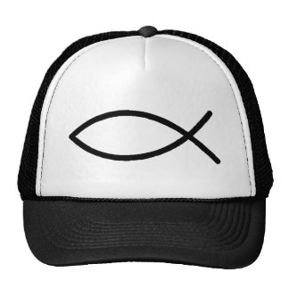 Christian Fish Trucker Hat