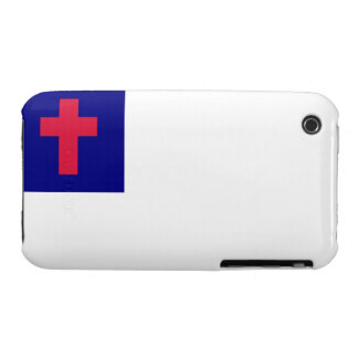 Christian Flag Blackberry Curve Case-Mate Case iPhone 3 Cases