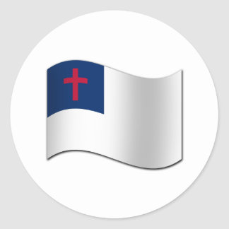 Christian Flag Stickers
