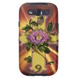 Christian Floral Cross Samsung Galaxy SIII Cases