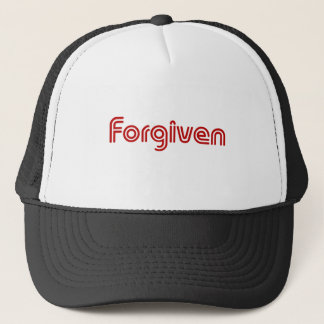 "Christian ""Forgiven"" Design Trucker Hat"
