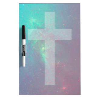 christian galaxy dry erase board