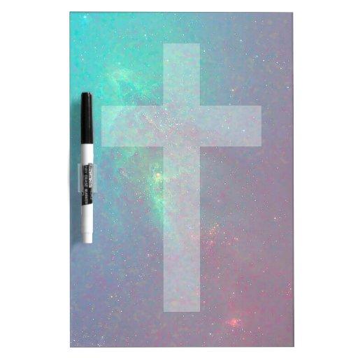 christian galaxy dry erase whiteboards
