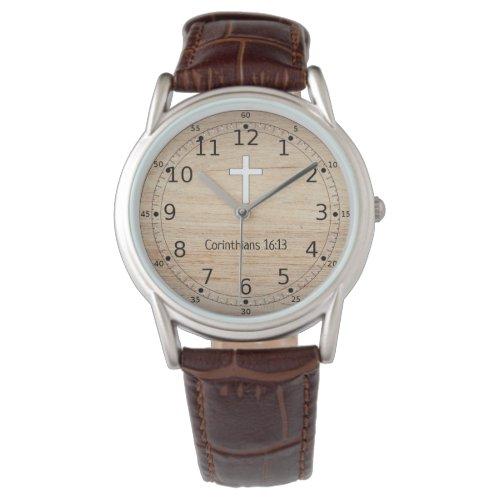 Christian Gifts for Men - Religious Watch